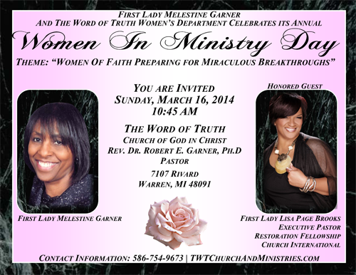 2014 Women In Ministry Flyers 16 March-1